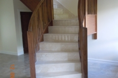 Cream-Marfil-and-Rosewood-stairs