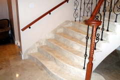 Cappuccino-marble-staircase-Guyana