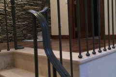 Cream Marfil Stone staircase