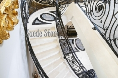 Cream Marble Stairs