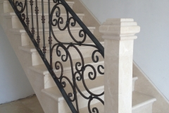 Marble-Staircase-complete-with-tiled-stringer-Co.Limerick