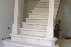 Galala-Limestone-Stairs-complete-with-two-stone-pillars