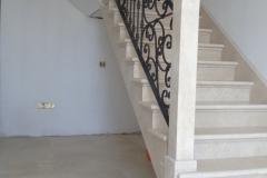 Marble-Stairs-complete-with-stone-pillar-Co.Limerick