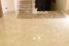 Cream-Marfil-marble-flooring